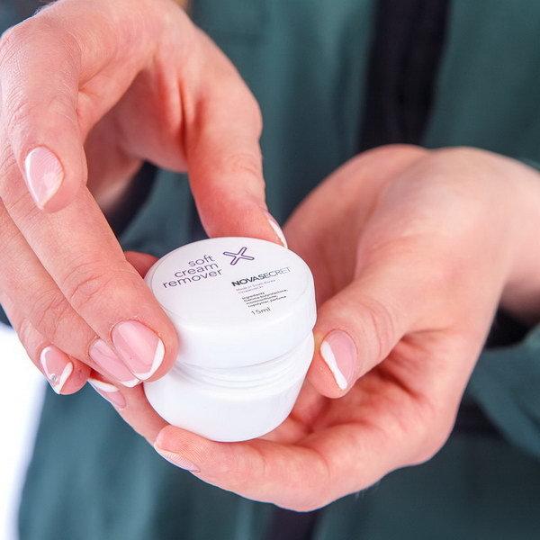 Жидкости и препараты для ресниц Ремувер кремовый Soft / Novasecret, 15 гр. 3.jpg