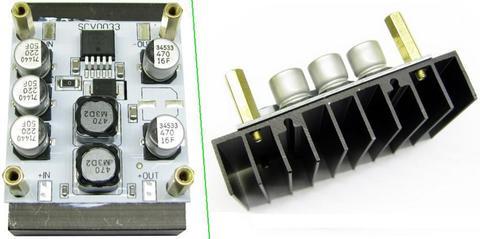 SCV0033-12V-5A-R - Импульсный стабилизатор напряжения 12 В (5 А)