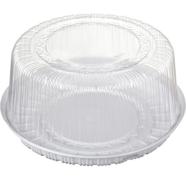 Пластиковая коробка для торта (внутренний диаметр 26см)