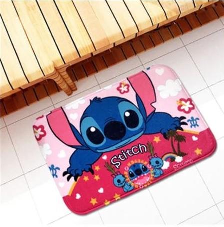 Лило и Стич детский противоскользящий коврик