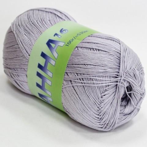 Пряжа Seam Анна 16 1005 светло-серый