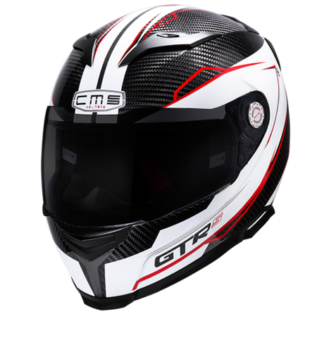 CMS GTRS CARBON DNA RED WHITE