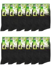A8892 носки мужские 41-47  (12шт.) черные
