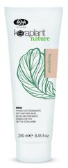 Детокс маска для кожи головы с зеленой глиной - Lisap Keraplant Nature Detoxifying Mud 250 мл