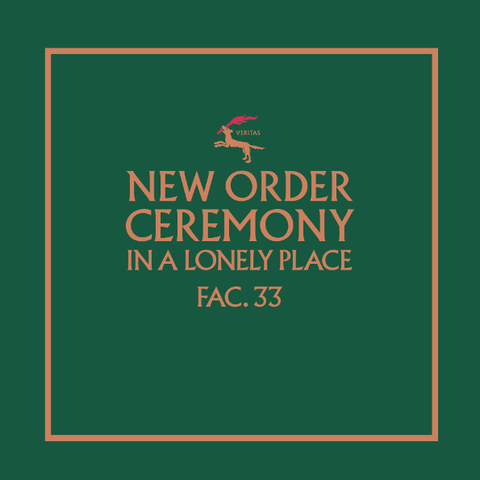 New Order / Ceremony (Version 1)(12