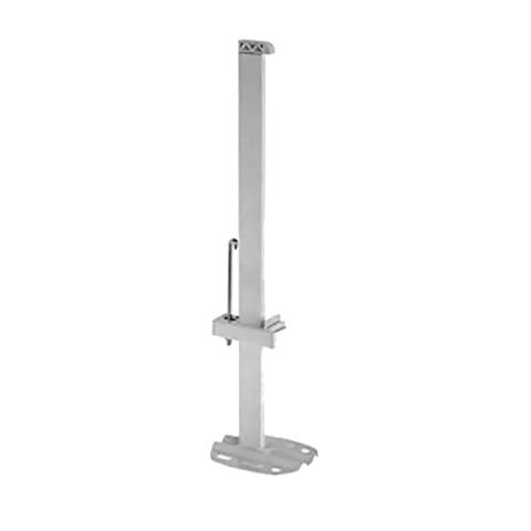 Кронштейн напольный для радиаторов KERMI высотой 600 и 900 мм (длина трубки 760 мм)