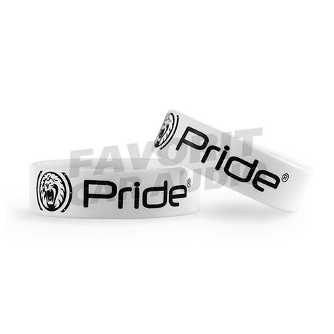 Браслет Pride белый широкий