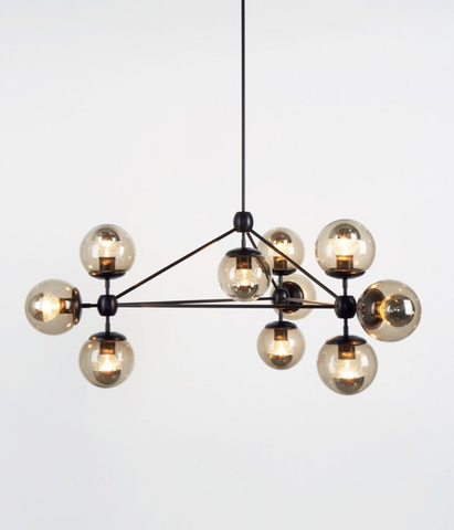 replica Modo Chandelier by ROLL and HILL ( 10 globes )