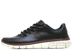 Кроссовки Mужские Nike Free Run 5.0 Brown Leather