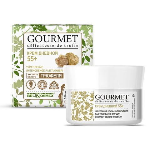 BelKosmex Gourmet  Крем дневной 55+ Укрепление кожи интенсивное разглаживание морщин Экстракт белого трюфеля 48г