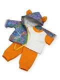 Трикотажный костюм - Оранжевый. Одежда для кукол, пупсов и мягких игрушек.