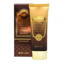 3W Clinic Premium Placenta Sun BB Cream - BB-крем для лица с плацентой солнцезащитный