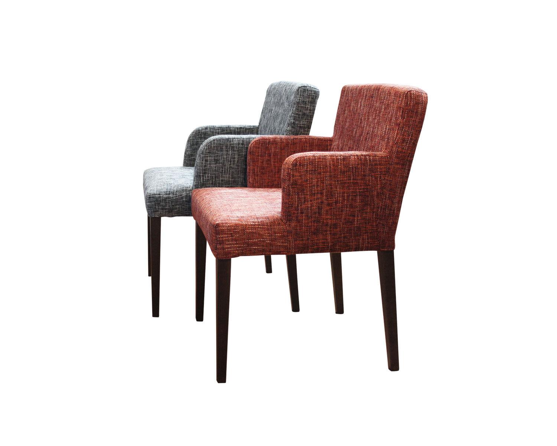 Кресло Тина - разная форма подлокотников