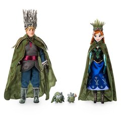 Куклы Анна и Кристоф с троллями - Холодное Сердце (Frozen), Disney