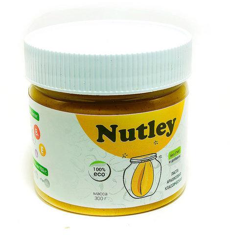 Nutley паста арахисовая классическая  300г