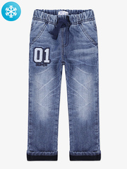 BWB000054 джинсы для мальчиков утепленные, медиум