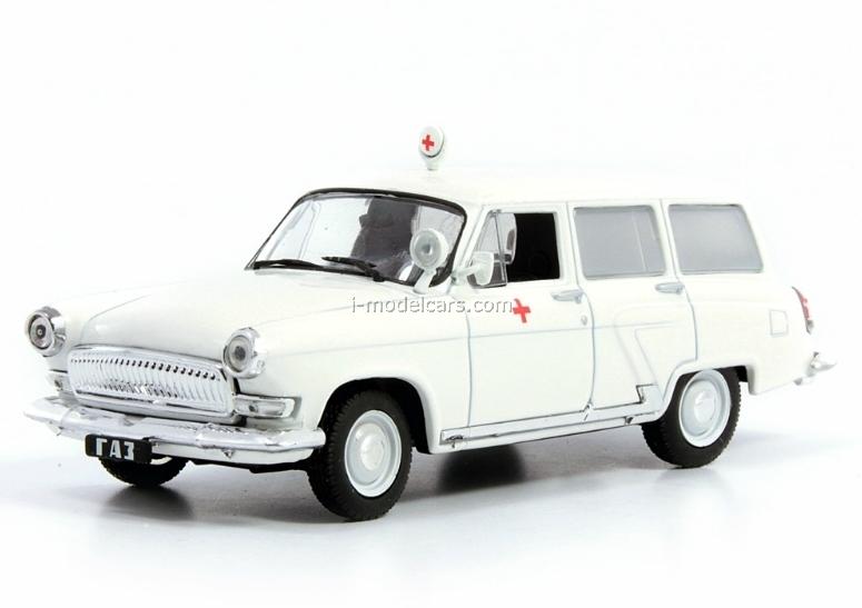 1982 1:43 Scale GAZ 3102 VOLGA Black Soviet /& Russian Sedan Diecast Model Car
