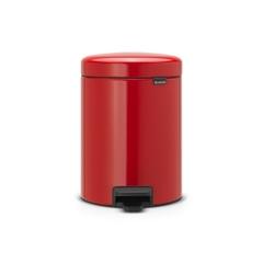 Ведро для мусора Brabantia NewIcon пламенно-красное 5л