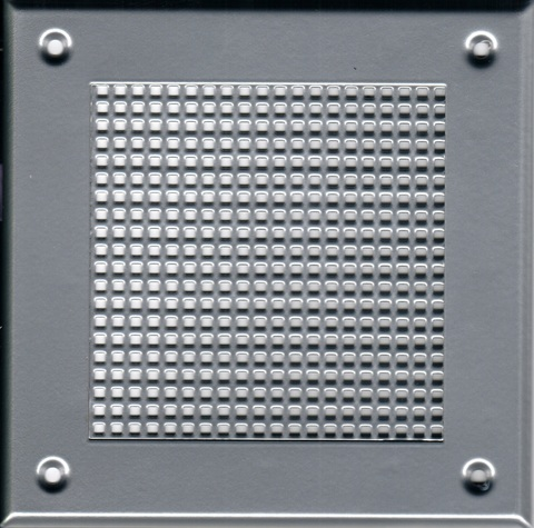 Решётка 150*150 хром, мелкая клетка