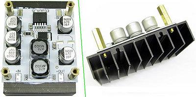 SCV0033-ADJ-5A-R - Регулируемый импульсный стабилизатор напряжения 1,2...37 В, 5 А