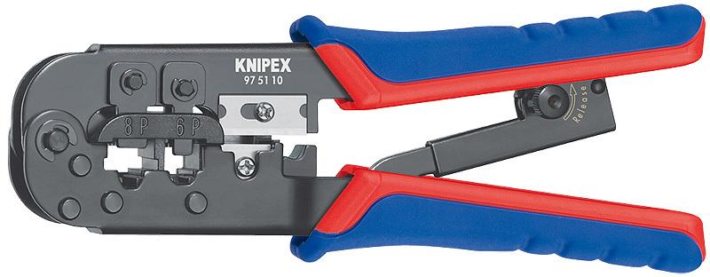 Инструмент для опрессовки штекеров типа Western Knipex KN-975110 Акция: Новый год!