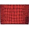 Полотенце 50х100 Cawo-JOOP! Gala Croco 1644 красное