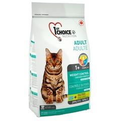 1st Choice Adult Weight Control для стерилизованных кошек, контроль веса