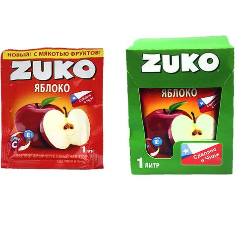 Растворимый напиток ZUKO Яблоко 1кор*8бл*12шт 25гр.