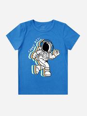 BKT002893 фуфайка детская, синий