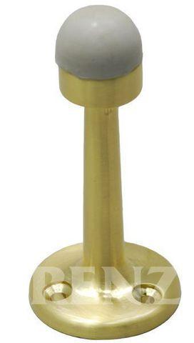 Ограничитель Дверной настенный Renz DS 77, цвет латунь блестящая