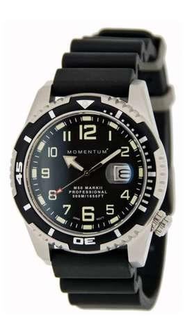 Купить Дайверские часы Momentum M50 Mark II (каучук, сапфир) по доступной цене