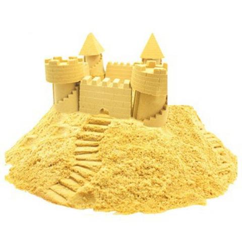 Космический песок. 3 кг. Желтый