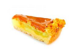 Пирог карамельный яблочный, 300г