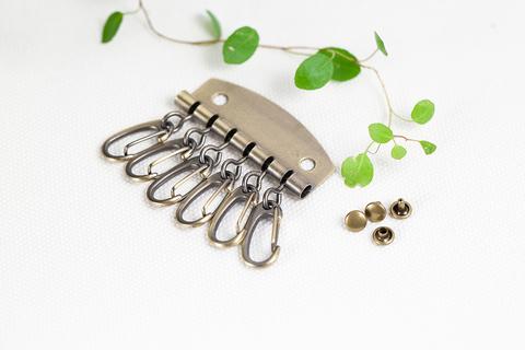 Заготовка для ключницы глянцевая латунь