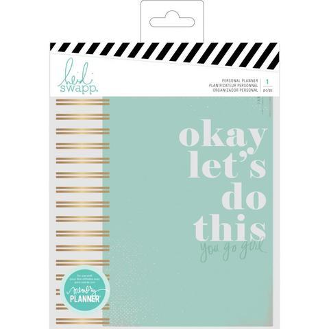 Ежедневник на пружине с наполнением  Heidi Swapp Personal Memory Planner-  Color Fresh, Let's Do This