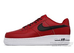 Кроссовки Nike Air Force 1 NBA Red White