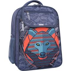 Рюкзак школьный Bagland Отличник 20 л. 321 серый 509 (0058070)