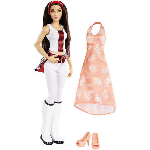 Кукла Никки Бри Белла (Brie Bella) с дополнительным нарядом - WWE Superstars, Mattel