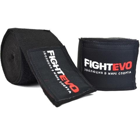 Бинты для бокса FightEvo 5m Black