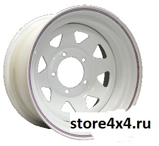 Off-Road-Wheels Белый  10x15 5x114.3 ET-40