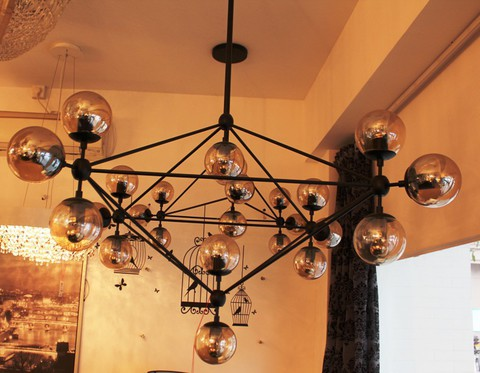 replica Modo Chandelier by ROLL and HILL ( 15 globes )
