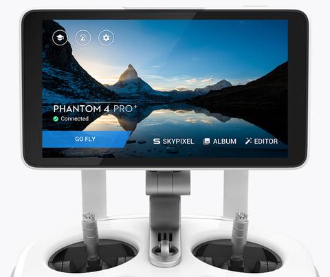 DJI Phantom 4 PRO + пульт со встроенным дисплеем