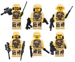 Минифигурки Военных Полиция SWAT Антитеррористические силы серия 167