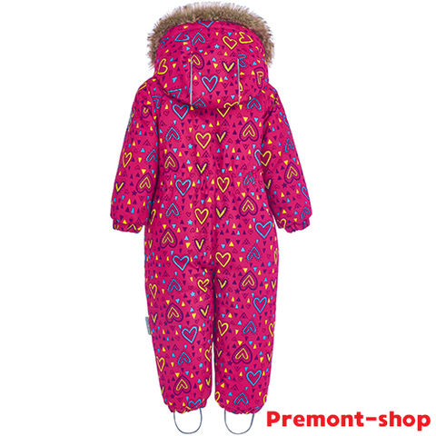 Комбинезон Premont Зима Малиновый Тимбитс WP81001 для девочки