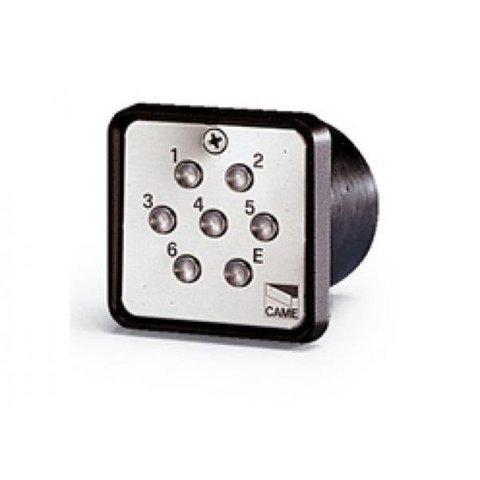 S6000 - Клавиатура кодонаборная проводная встраиваемая, 7-кнопочная Came