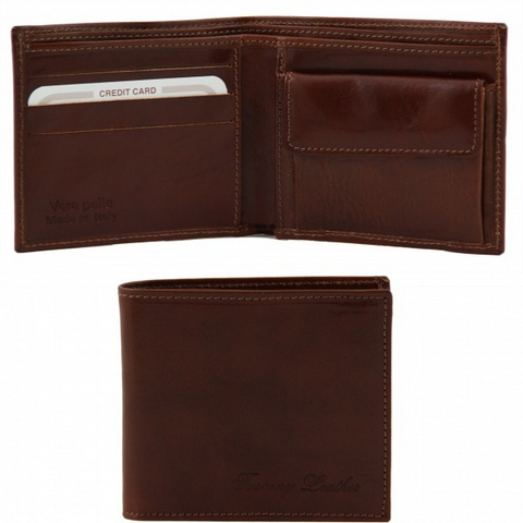 Tuscany Leather Exclusive wallet TL140761 - Brown