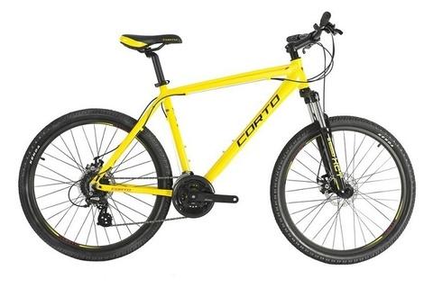 горный велосипед Corto CLIFF желтый