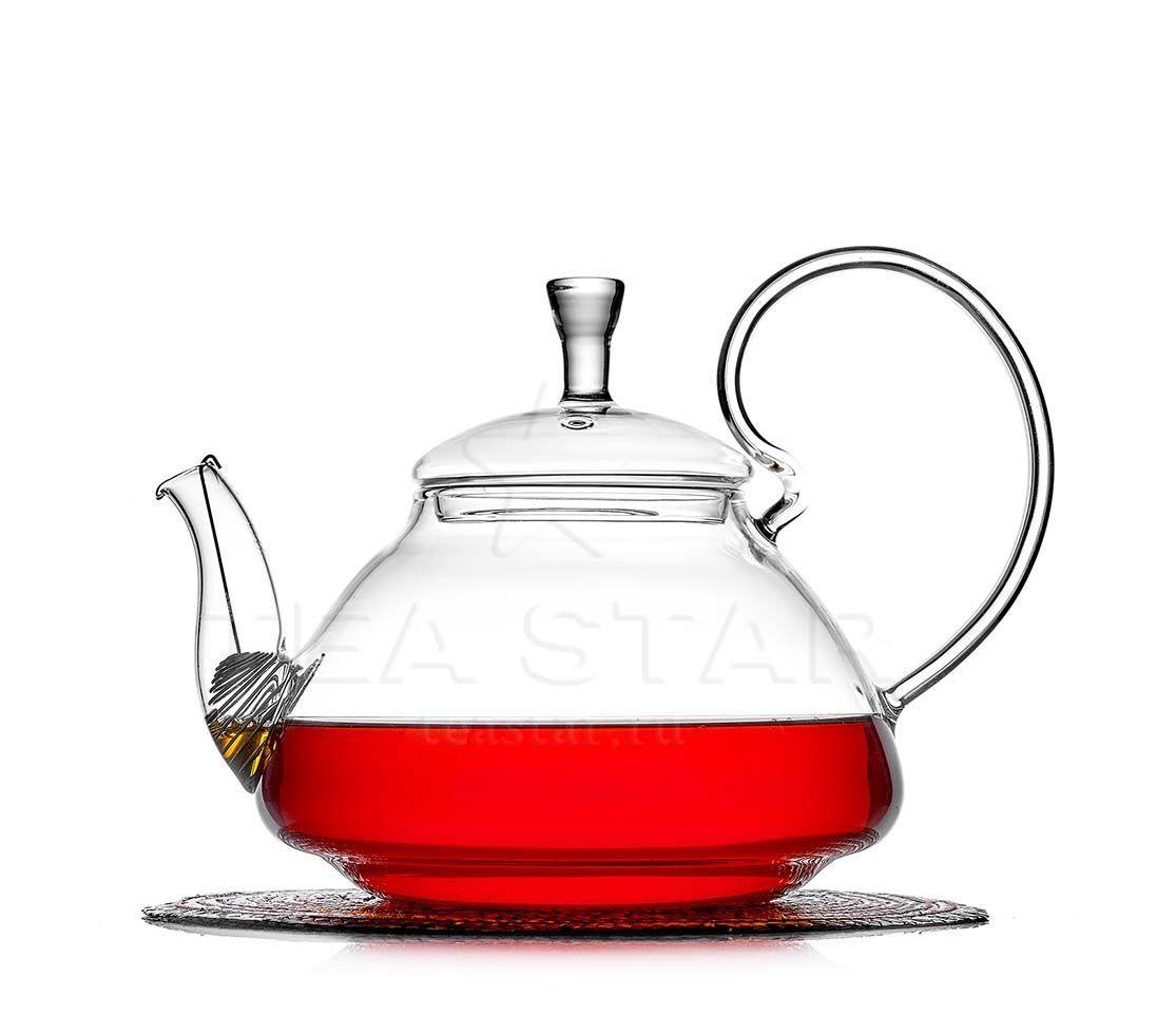 Заварочные стеклянные чайники Чайник заварочный стеклянный, Георгин, 1200 мл chaynik_georgin_1200ml.jpg