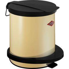 Ведро для мусора 5л Wesco Pedal bin 101 кремовое