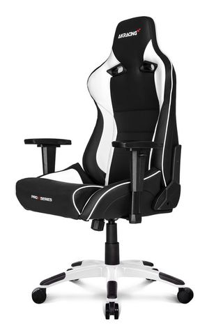Игровое Кресло AKRacing PRO-X (CPX11-WHITE) black/white